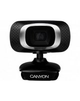 Canyon Webcam 720P HD with USB2.0 connector 360 Black