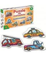 Alexander ALEXANDER Puzzle dla Maluszków Samochód - 0537