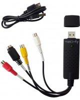 Techly Techly Audio Video Grabber USB 2.0, I-USB-VIDEO-700TY