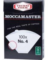Moccamaster Moccamaster Filtry do kawy 100 sztuk, 503010010