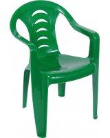 Ołer Garden plastikowe krzesło Tola, zielone (16086350)