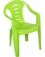 Ołer Garden plastikowe krzesło dla dzieci Tola, zielone (11520358)