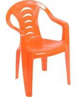 Ołer Garden Fotelik dziecięcy plastikowy Tola pomarańczowy