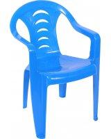 Ołer Garden plastikowe krzesło dla dzieci Tola, niebieskie (11520250)