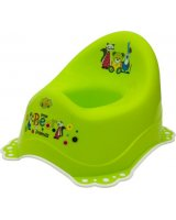 Maltex Nocnik z gumkami antypoślizgowymi, Mały Miś i przyjaciele, zielony (000606)