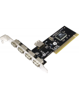 Kontroler LogiLink 4x USB 2.0 + 1 (PC0028)