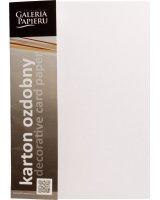 Argo Papier Karton Ozdobny A4 Floryda Standard Biały 20k, 200301