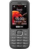 Telefon komórkowy Maxcom MM142 Dual SIM szary (MAXCOMMM142GRAY)