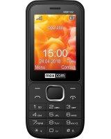 Telefon komórkowy Maxcom MM142 Dual SIM czarny (MAXCOMMM142BLACK)