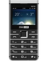Telefon komórkowy Maxcom MM760 Dual SIM czarny (MAXCOMMM760BLACK)
