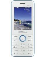 Telefon komórkowy Maxcom MM 136 Biało-Niebieski (DualSIM), MM136BINIEB