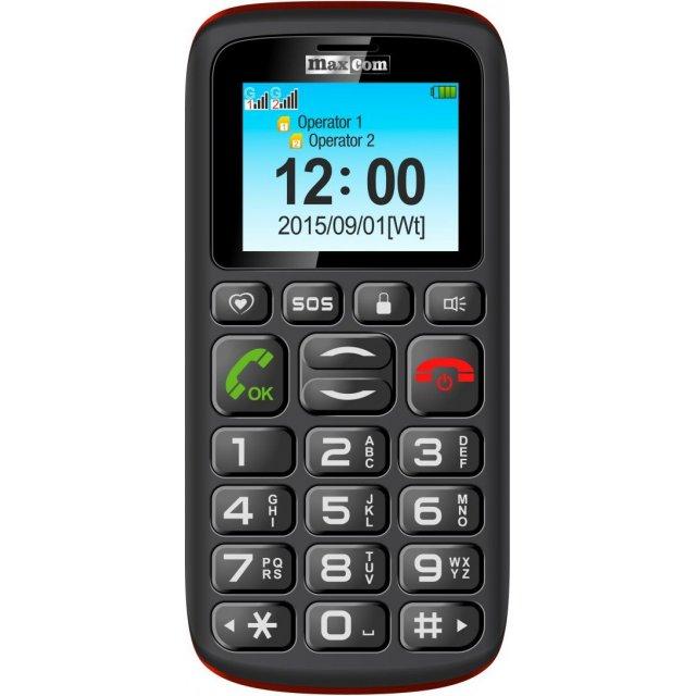 Telefon komórkowy Maxcom MM 428 BB Dual SIM, MAXCOMMM428BB