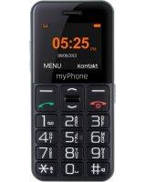 Telefon komórkowy myPhone Halo EASY czarny, 5902052866632