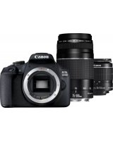 Lustrzanka Canon EOS 2000D + obiektyw EF-S 18-55mm IS II + obiektyw EF 75-300mm III, 2728C017