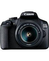 Lustrzanka Canon EOS 2000D + 18-55mm DC, 2728C002