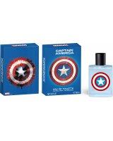 Marvel Tualetinis vanduo Marvel Captain America EDT berniukams 100 ml