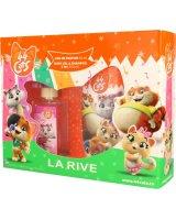 La Rive Zestaw dla dzieci Disney 44 Cats woda perfumowana 50ml+żel pod prysznic 250ml, 582929