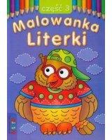 Malowanka - Literki cz. 3 LITERKA - 54856