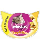 Whiskas Temptations kurczak i ser 60g, 5998749108550