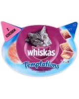 Whiskas Temptations Łosoś 60g, 5998749108536