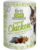 Brit Care Cat Snack Superfruits Chicken 100g, 87121