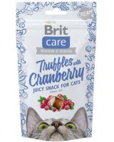 Brit Care Cat Snack Truffles Cranberry 50g, 87125