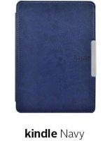 Pokrowiec Etui Smart Case Kindle Paperwhite 1/2/3 - Navy, 12682-uniw