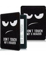 Pokrowiec Alogy Smart Case Kindle Paperwhite 4 Don't touch my e-reader, 33655-uniw