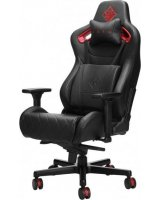 Citadel Gaming Chair, Gaming-Stuhl schwarz/rot Material: Kunstleder Max. Tragfähigkeit: 136 kg Armlehne: 4D NJZO0A 6KY97AA
