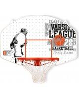 New Port Tablica i obręcz do koszykówki, włókno szklane (423108)
