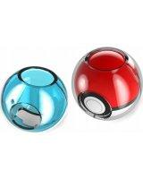 Mimd Pokrowiec Case Clear Na Pokeball Nintendo Switch - Niebieski / Przezroczysty (SB5082)