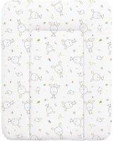 Ceba Ceba Baby, Przewijak miękki Dream biały rozproszony, 50 x 70 cm