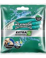 Wilkinson Extra 2 Sensitive Maszynka do golenia 5szt, 72633