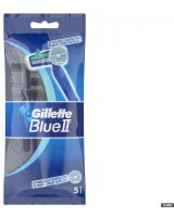 Gillette GILLETTE_Blue II Chromium jednorazowe maszynki do golenia dla mężczyzn 5szt - 7702018849031