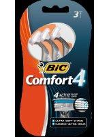 Bic Maszynka do golenia Comfort 4 Blister 3, 798880282