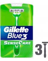 Gillette Maszynka do golenia Blue 3 Sense Care, 361892