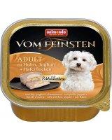ANIMONDA PIES 150g Vom Feinsten ADULT Drób, jogurt, płatki owsiane, VAT008172