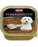 ANIMONDA PIES 150g Vom Feinsten ADULT Wołowina, jogurt i płatki owsiane, VAT008173