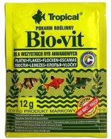 Tropical Bio-Vit pokarm roślinny dla rybek 12g, 5900469744116