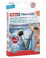Tesa Plastry samoprzylepne Tesa Powerstrips przeźroczyste 8szt. (H5881000)