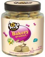 Lolo Pets Classic Ciastka - Kości bananowe w słoikach S - 210g, LO-80606