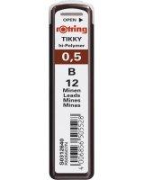 Rotring grafit 0.5mm/B, S0312640
