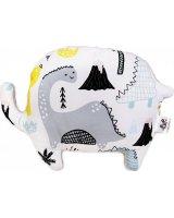 Pulp Pulp, poduszka Minky Słonik, Dinozaury, 29 x 22 cm, PLP03105