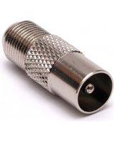 Libox Wtyk ant.metal na F (LB0035)