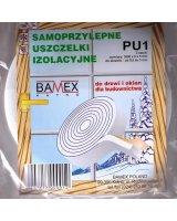 Bamex Uszczelka izolacyjna samoprzylepna z gąbki (PU-1), I281