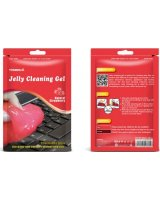 Visbella VISBELLA Jelly Cleaning Gel želė dulkėms valyti iš sunkiai prieinamų vietų (braškė)