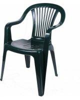 Ołer Garden Plastikinė kėdė Beryl, žalia