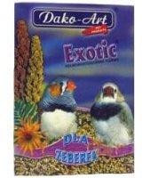 Dako-Art 500g EXOTIC karma DLA ZEBEREK, 00059