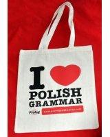 Prolog Torba 'I love Polish grammar', 305143