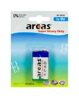 Arcas Bateria Super Heavy Duty 9V Block 1szt., 10700122